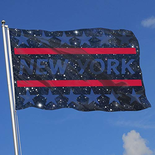 TAOHJS76 Printed Outdoor/Home Garden Flag New York 100%