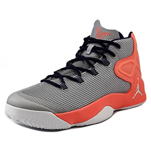 689b685ca835 Jordan Melo M12 12 Men Basketball Sneakers New Wolf Grey Hyper Orange
