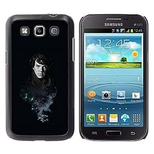 Be Good Phone Accessory // Dura Cáscara cubierta Protectora Caso Carcasa Funda de Protección para Samsung Galaxy Win I8550 I8552 Grand Quattro // Sherlock