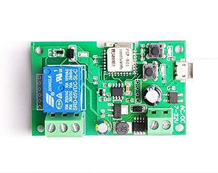 DC5V 12V 24V 32V Sonoff Wifi Switch Wireless Relay Module Smart Home