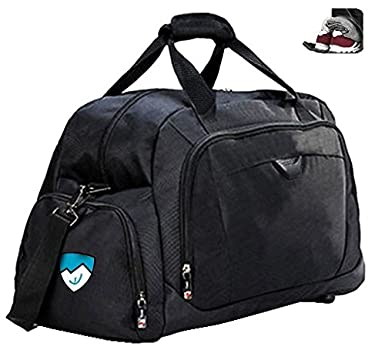 Hard Work Sports Duffle Bag With Shoe Compartment Perfect Size Gym For Men Women