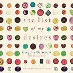The List of My Desires   Gregoire Delacourt