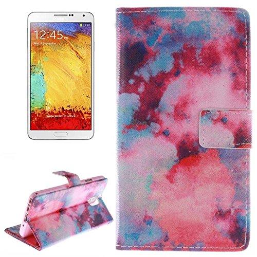 Funda Iphone, Sexy Lady patrón horizontal Flip caja de cuero con titular y ranuras para tarjetas y cartera para la nota de la galaxia de Samsung III / N9000 ( SKU : S-SCS-9661A ) S-SCS-9661B