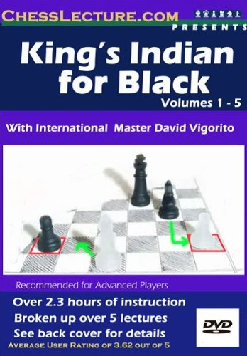 Kings Indian for Black - Chess Instruction Tutorial Training DVD