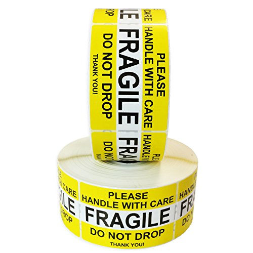 Fragile Please Handle with Care Do Not Drop Label Stickers 2