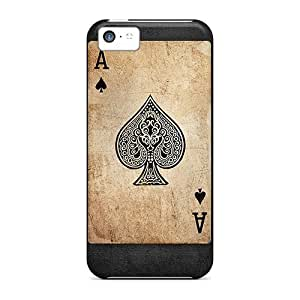Hot Fashion HmUnlwj2884syTih Design Case Cover For Iphone 5c Protective Case (card)