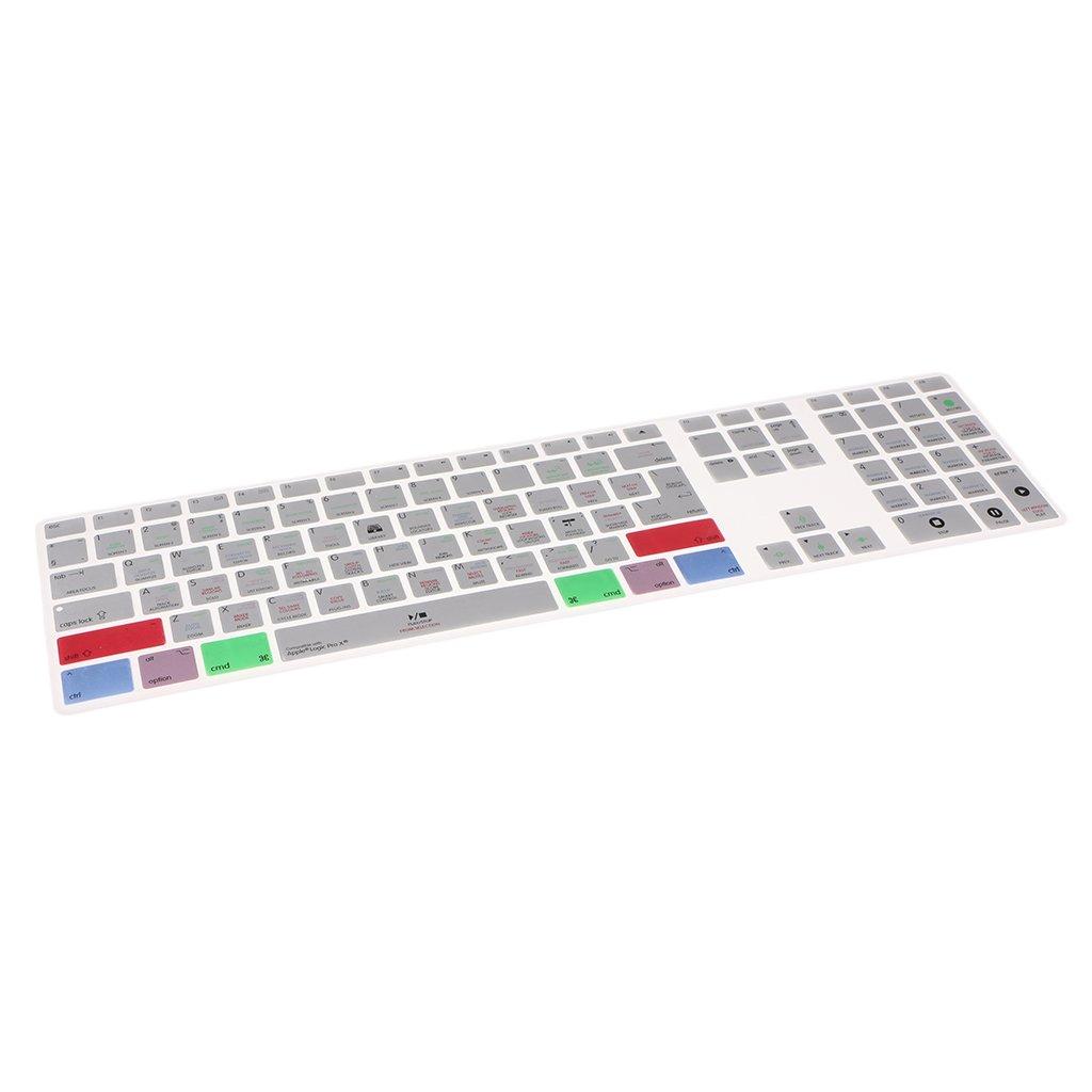 MagiDeal Protector de Piel de Cubierta de Teclado para Macbook Laptop Notebook Logic Pro X