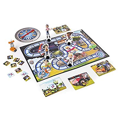 Rusty Rivets – Quick Bits Path Game Board Game with Crush Figure: Toys & Games