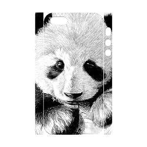 GGMMXO Panda Shell Phone Case For iPhone 5,5S [Pattern-1]