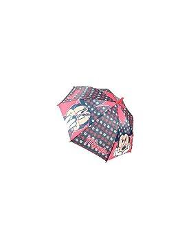 Hogar y Mas Paraguas Infantil Automático Premium con la Imagen de Minnie