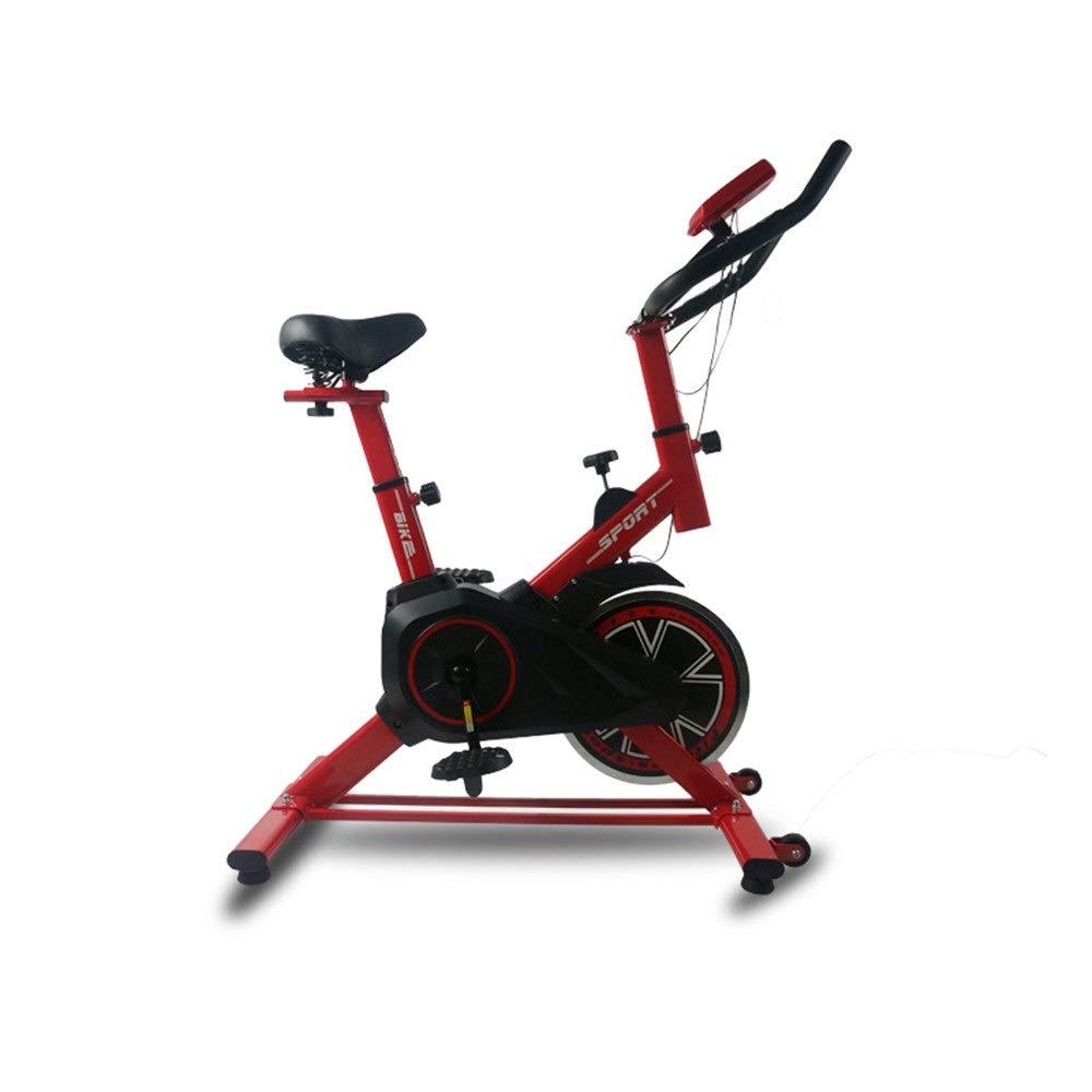 静止自転車 訓練コンピュータおよび楕円形の十字のトレーナーのエアロバイクが付いている屋内高度の自転車のトレーナー 安全で快適