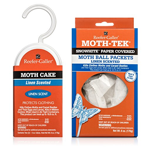 MOTH KILLER KIT for Clothes Moths by Moth-Prevention - Large Infestation by West Bay Retail (Image #3)