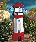 Jumbl Solar Lighthouse with Rotating Lamp