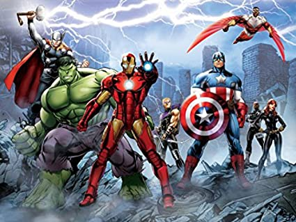 The Avengers Poster Photo Wallpaper