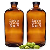 Cathy's Concepts Love Potion No. 9 Bullet Growlers, Set of 2
