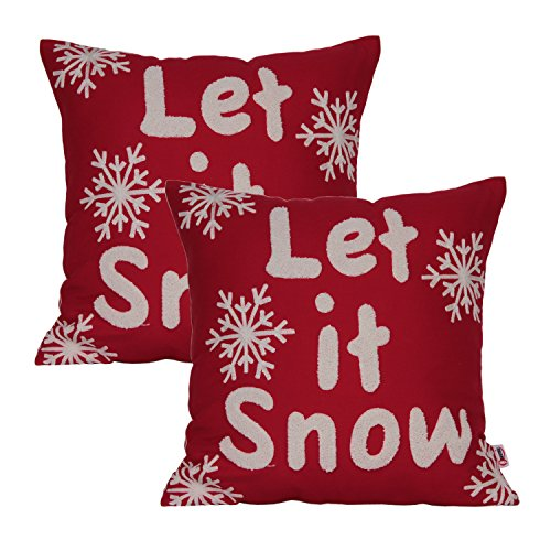 Let It Snow Pillow Amazon
