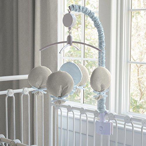 Carousel Designs Light Blue Linen Mobile by Carousel Designs