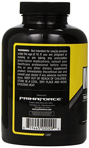 PrimaForce Max CLA Supplement, 180 Count 1000mg Softgels – Aids Fat Loss / Increases Lean Mass / Improves Fat Oxidation