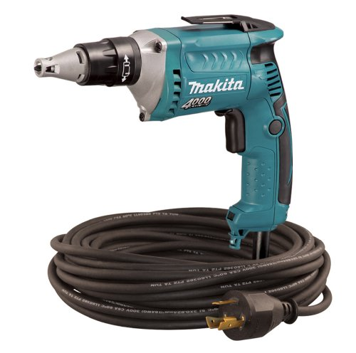 Makita FS4200TP 4,000 RPM Drywall Screwdriver with 50-Foot Twist Lock Cord (Discontinued by Manufacturer) (Screwdriver 4000 Rpm Drywall)