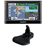 Garmin nuvi 55LM Essential Series GPS System w/ Lifetime Maps 5″ Display (010-01198-01), & Garmin Friction Mount Bundle includes: nuvi Essential Series GPS Nav. System & Portable Friction Mount