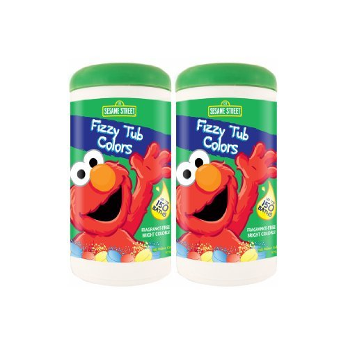 Sesame Street Fizzy Tub Colors 10.58oz