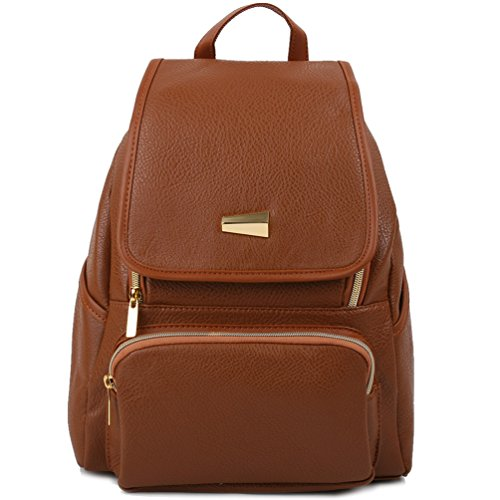 Copi Women's Modern Design Deluxe Fashion Backpacks One Size Camel by Copi