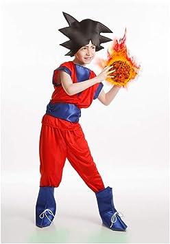 El Rey del Carnaval - Disfraz goku talla 3-5 años: Amazon.es ...