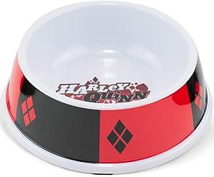 Buckle-Down Dog Food Bowl Harley Quinn Diamon Icon Diamonds 16 Ounces