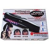 【日本語説明書付き】Power Laser Grow Comb パワーグローコーム  育毛促進・毛髪再生 毛根を元気に 育毛ヘアブラシ 薄毛、スカルプ、頭皮ケア、毛根を元気に、脱毛防止、ハゲ 並行輸入品 [並行輸入品]