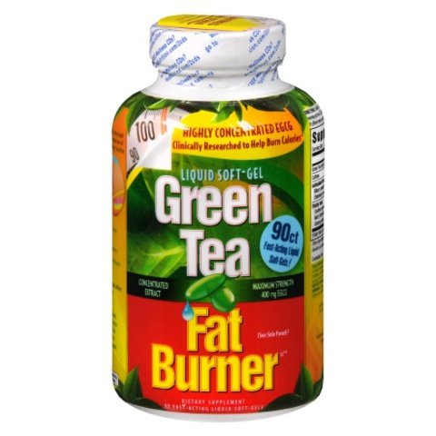 Applied Nutrition Green Tea Fat Burner 400 Liquid Soft-Gels ,Applied-th