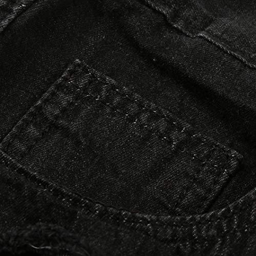 Nero Estate Chiaro Uomo Sfilacciati Jeans Scuro Anaisy Strappati Da Slim Cerniera Con Lampo Skinny Casual Tutti Blu Grigio I Pantaloni Giovane Giorni q4wAwBpRx