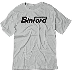 BSW Men's BinFord Tools Home Improvement Shirt XS Silver