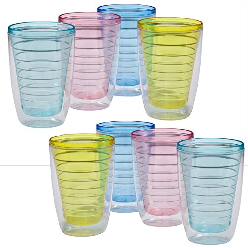 12 oz. Insulated Tumblers Set of 8
