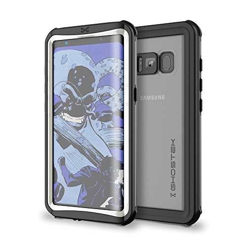 Ghostek Nautical Heavy Duty Waterproof Case Compatible with Galaxy S8 – White