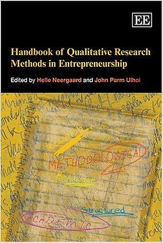 Handbook of Qualitative Research Methods in Entrepreneurship (Elgar Original Reference)