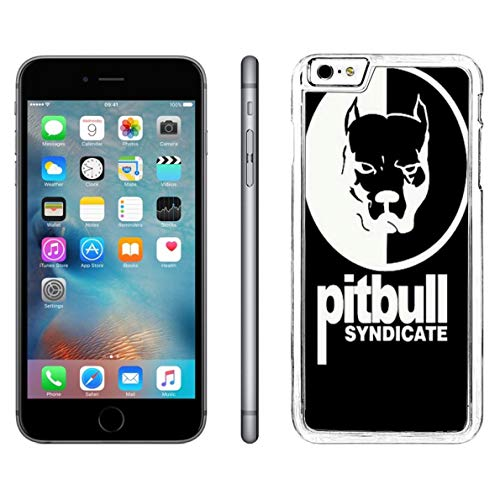 Case for iPhone 6S Plus Pitbull,iPhone 6S Plus Cute Pitbull Dog Case,iPhone 6 Plus Protective Case Cute Pitbull Dog Case Pitbull Love Flexible Transparent Case for iPhone 6 Plus/6S Plus ()