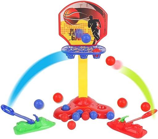Baloncesto electrónico Juguetes de tiro para niños Expulsando baloncesto Juego de juegos de mesa de baloncesto en miniatura Juego de escritorio interactivo entre padres e hijos Juego familiar divertid: Amazon.es: Hogar