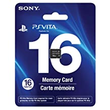 Sony Playstation Vita 16 GB Memory Card [Sony]