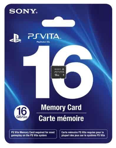 Amazon.com: 16GB PlayStation Vita Memory Card: Video Games