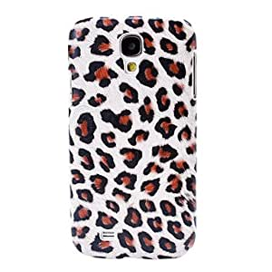 YXF Leopard Pattern Plastic Case for Samsung Galaxy S4 I9500 , Gray
