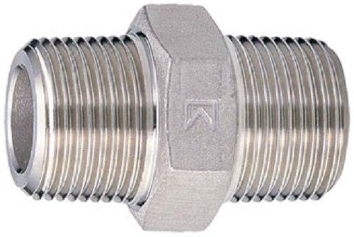 キッツ ステンレス鋼製ねじ込み管継手 SCS13A六角ニップル KITZ-PH 1B
