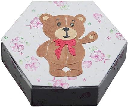 goffratura per fai da te scrapbooking in metallo Fustelle da taglio per scrapbooking biglietti a forma di orso