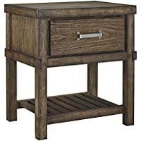 Signature Design by Ashley B614-91 Leystone, Nightstand, Brown