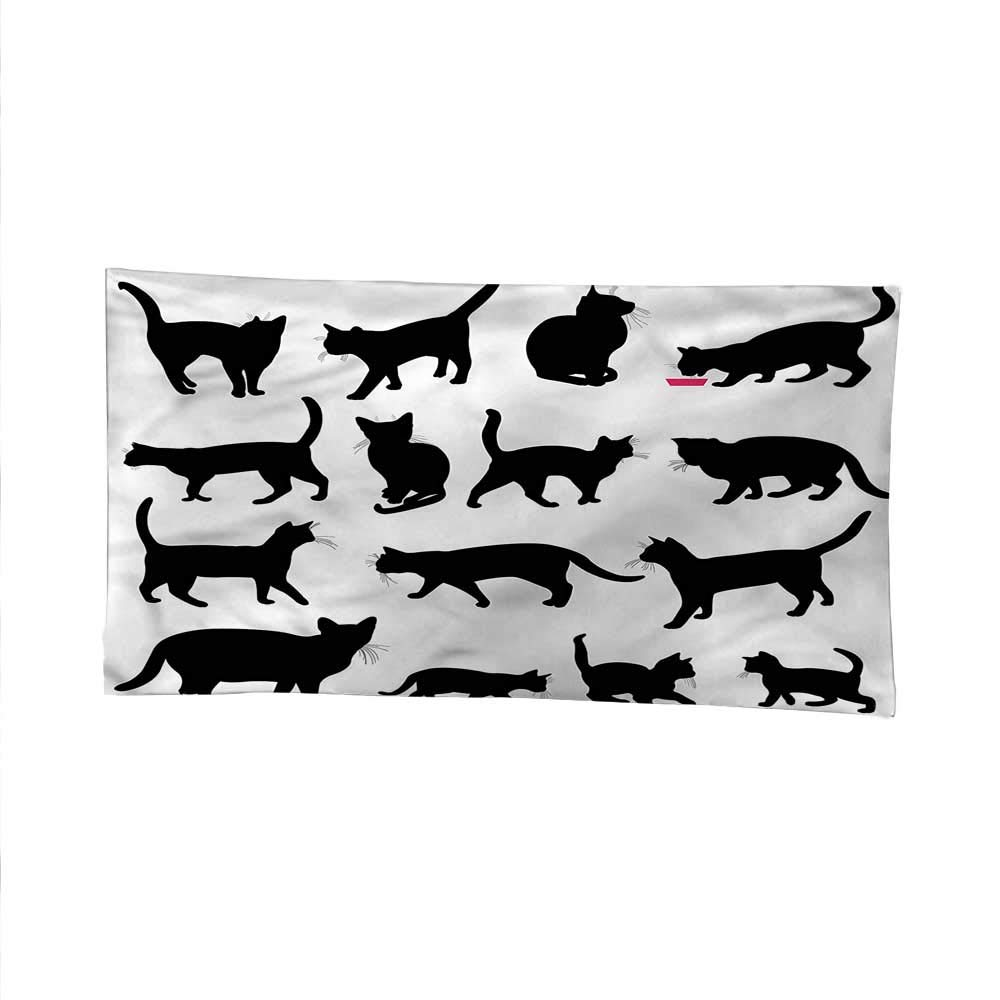 color02 93W x 70L Inch color02 93W x 70L Inch Catsimple tapestryart tapestryBlack Kittens Pets Paws 93W x 70L Inch