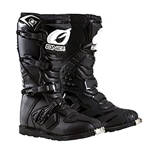 O'Neal Men's New Logo Rider Boot (Black, Size 10)