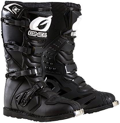 O'Neal 0325-109 Men's New Logo Rider Boot (Black, Size 9)