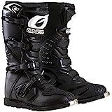 O'Neal Men's New Logo Rider Boot (Black, Size 8)