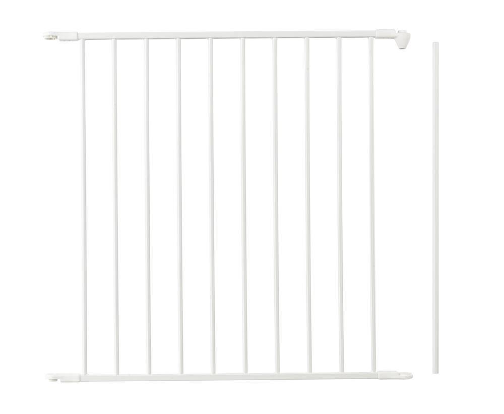 BABY-DAN L'extension FLEX 72 cm barrière de sécurité, blanc BABY DAN 67254-24000-12