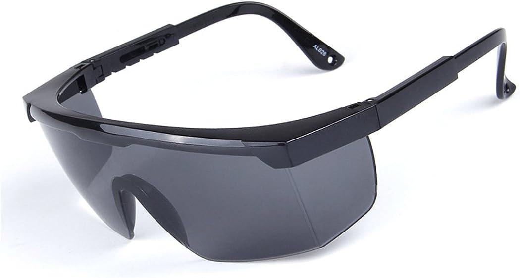DAUCO Schutzbrille mit 180/° Sichtfeld Safety Overglasses Unisex Arbeitsschutzbrille mit Antikratz und Antibeschlag Technologie Individuell anpassbarer B/ügel