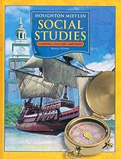 Houghton Mifflin Social Studies: Practice Book Level 5 US History ...